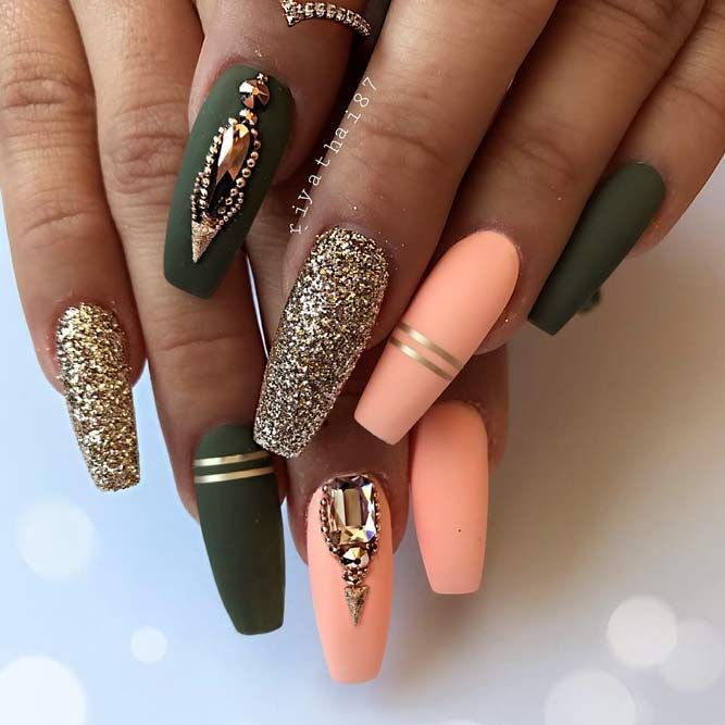 Examples Of Beautiful Long Nails To Inspire You | Luxury nails .