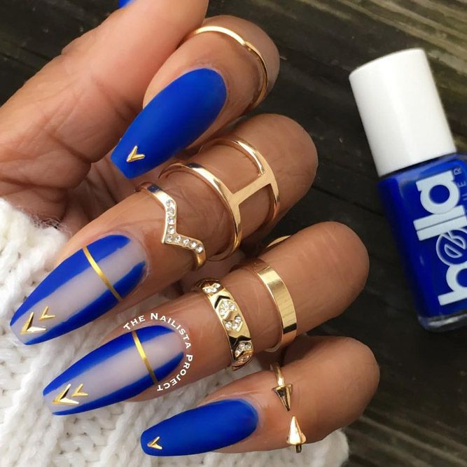48 Pretty Nail Designs You'll Want To Copy Immediately | Coffin .