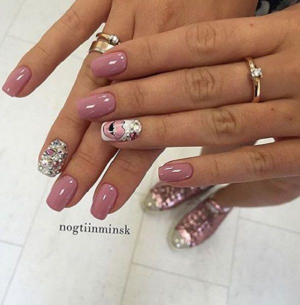 35 Nail Designs For Winter | Winter nail art, Nail art designs .