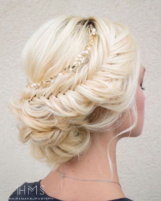 100 Most-Pinned Beautiful Wedding Updos Like No Other #2526967 .