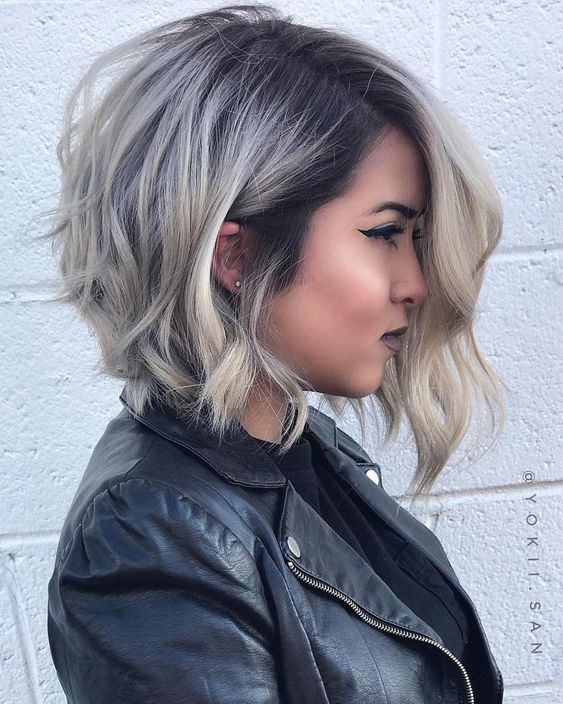 Soothing Medium Bob Hairstyles for All Faces-Best Bob Haircut .