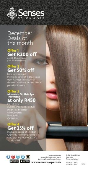 Summer Specials at the Hair Salon | Beauty salon posters, Hair .