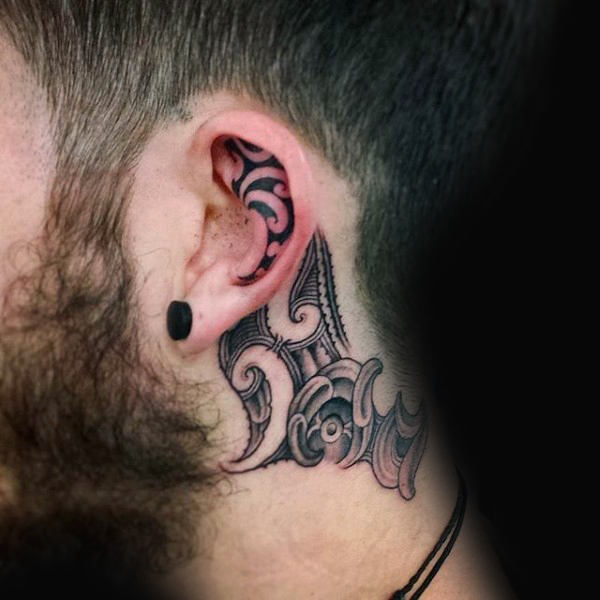 Top 101 Best Ear Tattoo Ideas - [2020 Inspiration Guid