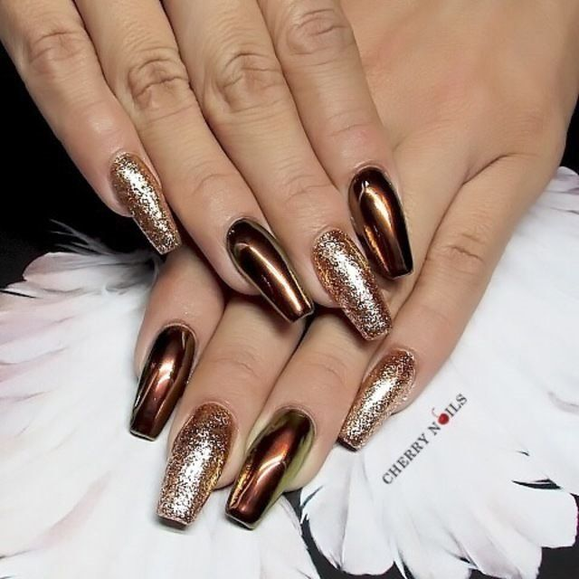 Best Metallic Nail Designs for 2019 – Nail Art Ideas | Nail .