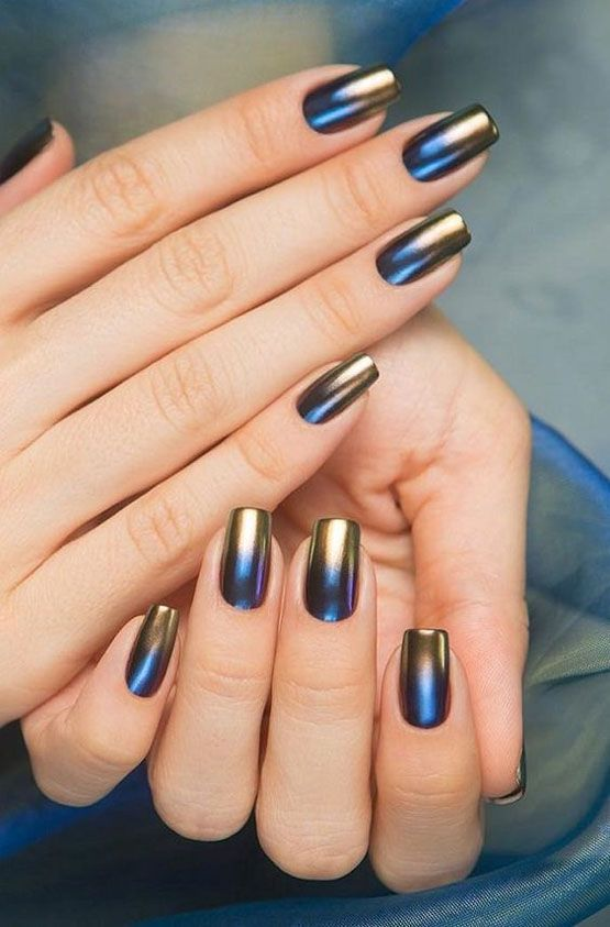 Best Metallic Nail Designs
