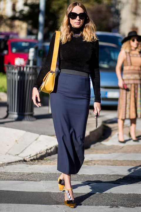 How to style your pencil skirt now: 10 new ide