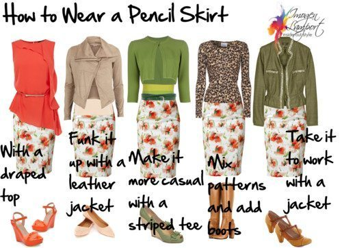 How to Wear a Pencil Ski