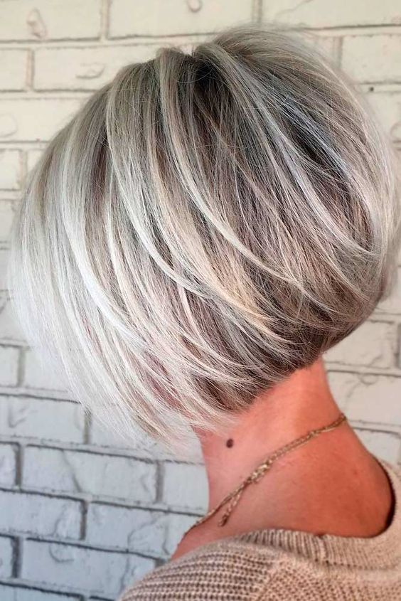 60 Ideas Of Wearing Short Layered Hair For Women | Short hair with .