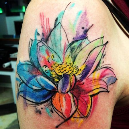 12 Best Watercolor Tattoo Designs for the Week   Watercolor tattoo .