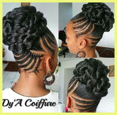 Aesthetic Black Braided Updo Hairstyles Gallery Of Updos .