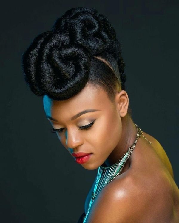 Updos for Black Hair: Best Updo Hairstyles for Black Women (April .