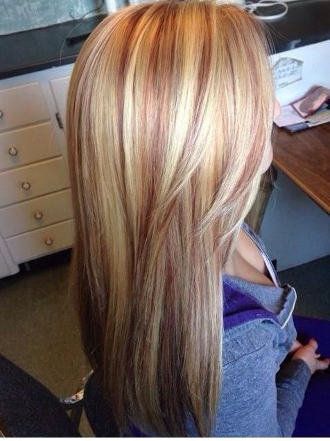 Strawberry Blonde Highlights! | Strawberry blonde hair, Hair color .