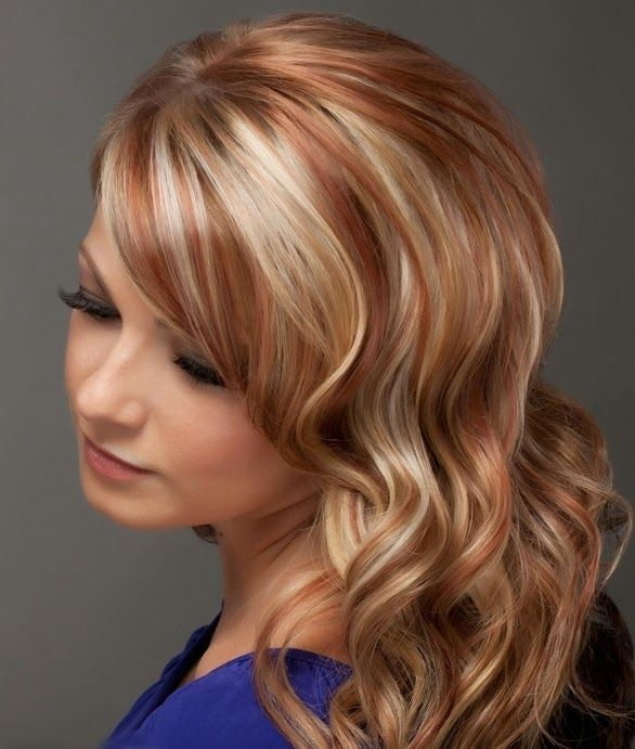75 Epic Red Highlights on Black, Brown & Blonde Hair [202