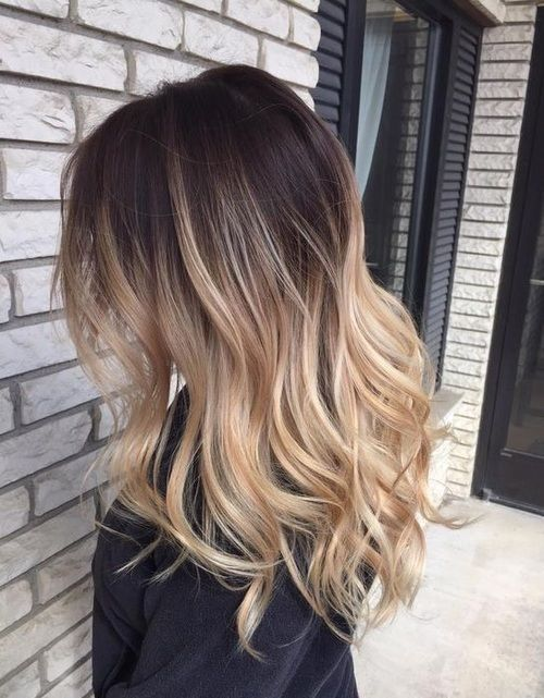 Brown To Blonde Ombre Hair hair blonde hair hair ideas hairstyles .