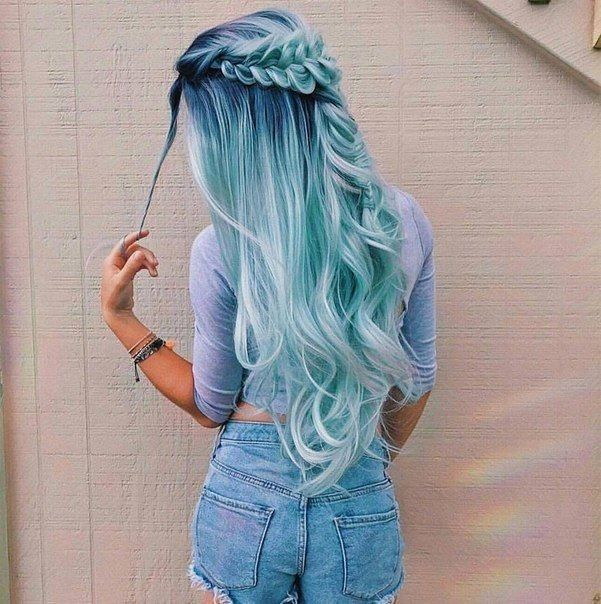 40 Gorgeous Pastel Blue Hairstyles You Have to Try – Page 16 .