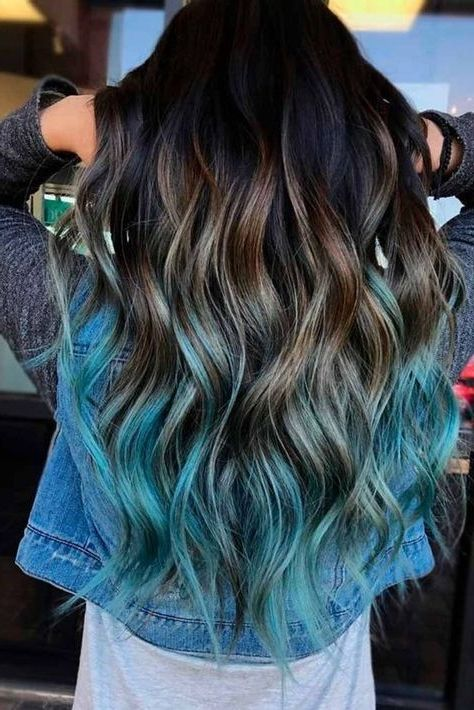 40 Stunning Blue Hairstyles Ideas in 2019, This year it's about .
