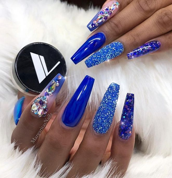 Get The Scoop On Blue Nail Designs Royal Coffin Before You're Too .