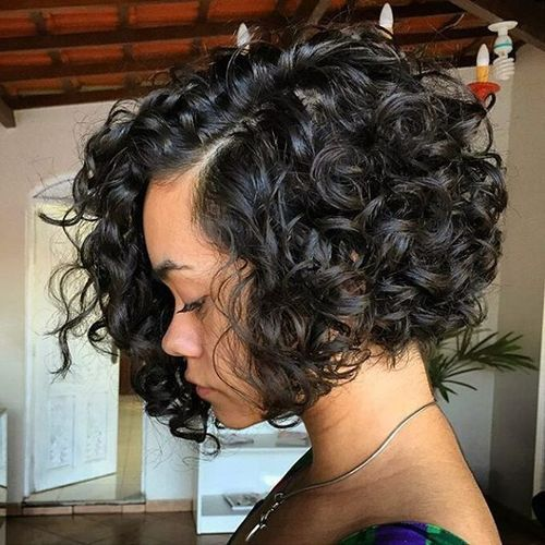 Bob Hairstyles About Curls