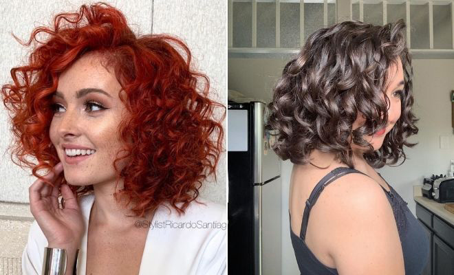 23 Curly Bob Hairstyles That Are Trending Right Now | StayGl