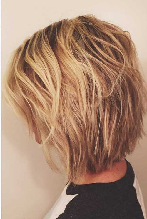 Short Layered Bob Pictur