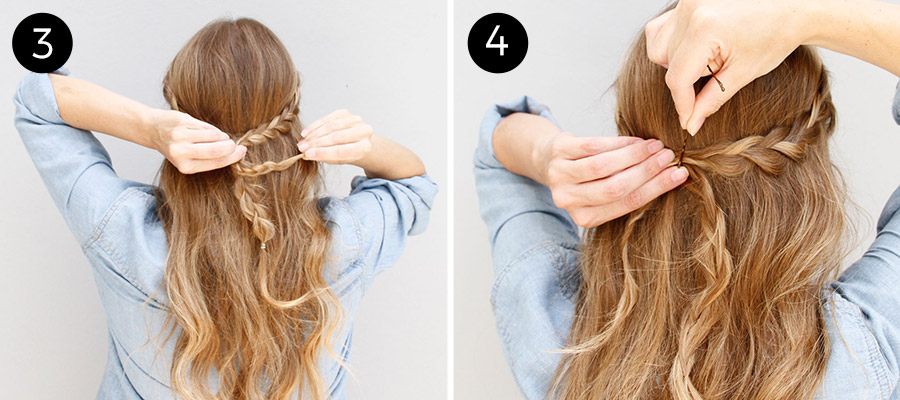 Wear This Hair: Boho Braided Hairstyle How-To - Mo