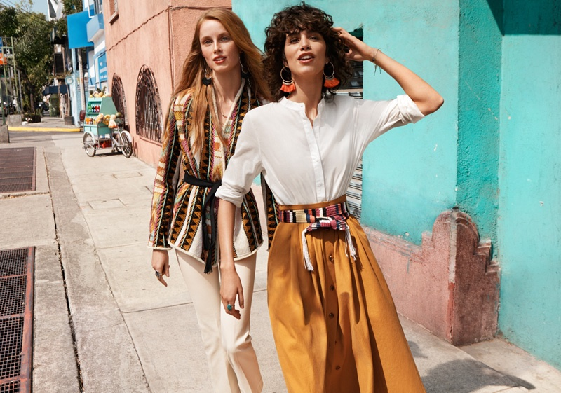 H&M Channels Boho Style for Spring 2016 Campaign | Fashion Gone Rog