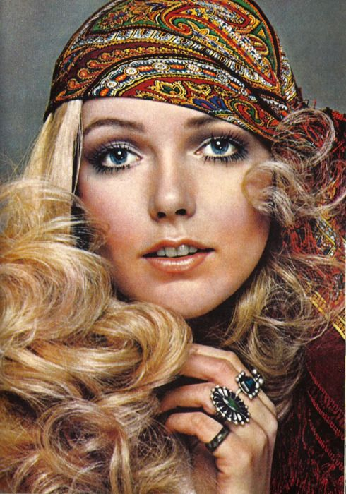60s hippie chic | 70s hair and makeup, 70s makeup, 70s ha