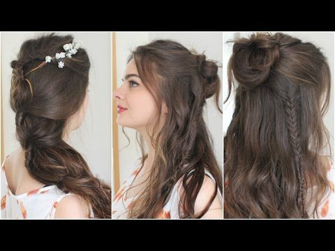 Boho 70s Braids with C'erine Babyy - All Things Hair Tutorial .