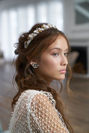 Maria Elena Headpieces: Bridal Crowns, Tiara, and Bold Wedding .