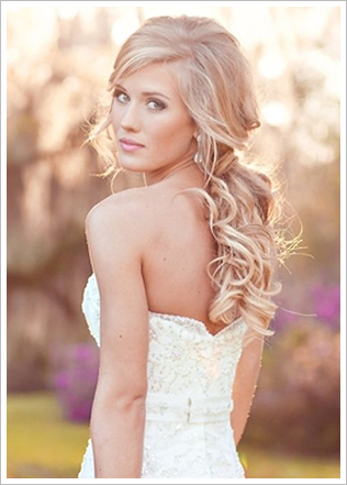 Wedding Hair for the Bold and Beautif