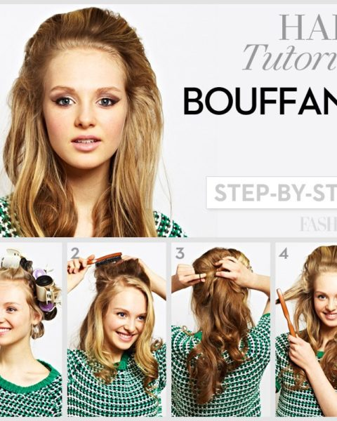 Bouffant hair tutorial: How to add some Lana Del Rey-approved .