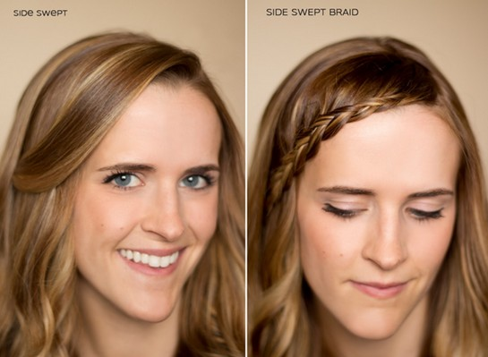 15 Braided Bangs Tutorials: Cute, Easy Hairstyles - Pretty Desig