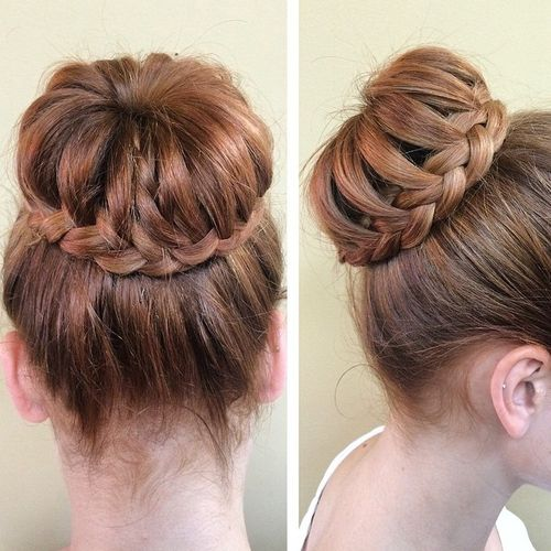 35 Braided Buns Re-inventing the Classic Sty