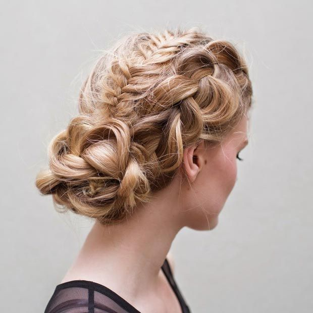 50 Cute and Trendy Updos for Long Hair | Long hair styles, Easy .