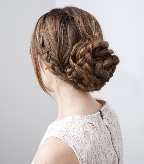 12 Braided Buns for Everyday Look - Pretty Desig
