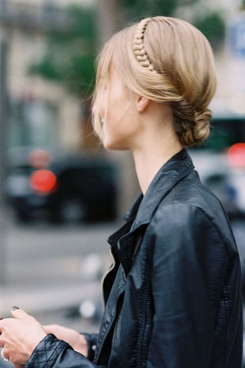 12 Braided Buns for Everyday Look | Hair inspiration, Hair styles .