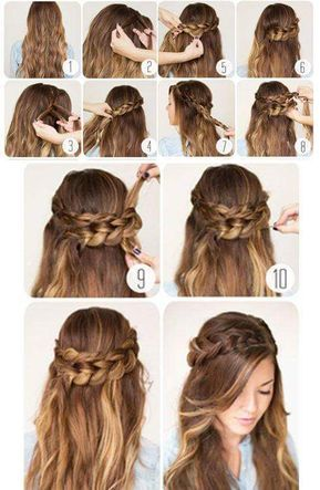 40+ Everyday Hair Updo Tutorials For Summer (With images) | Hair .