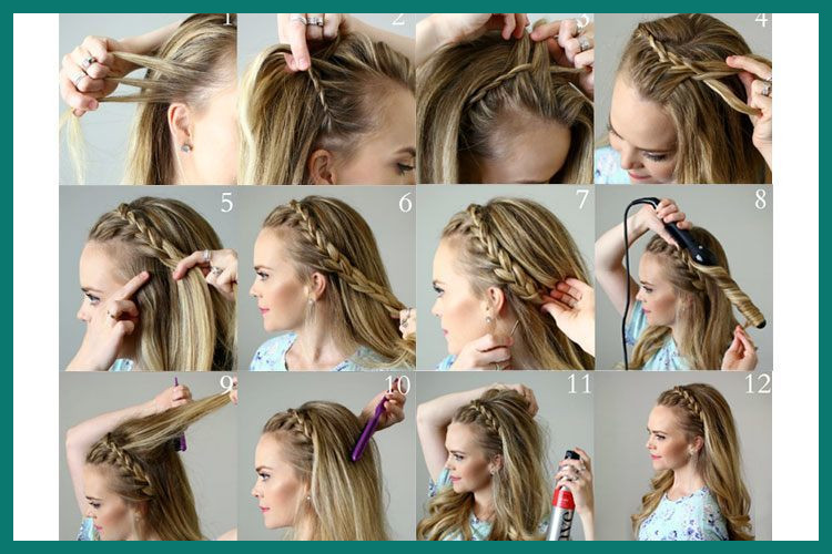 How to Braid Hairstyles 237011 Braiding Hair Tutorials How to .