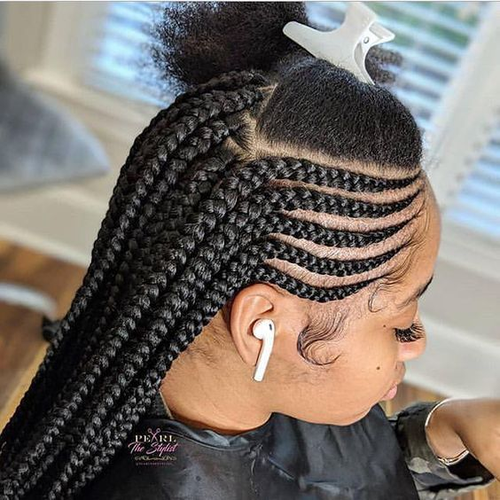 cornrows braided hairstyles 2019:100 Best Black Braided Hairstyles .