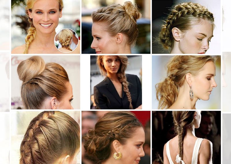 4 Different Braided Hairstyles for Special Occasio