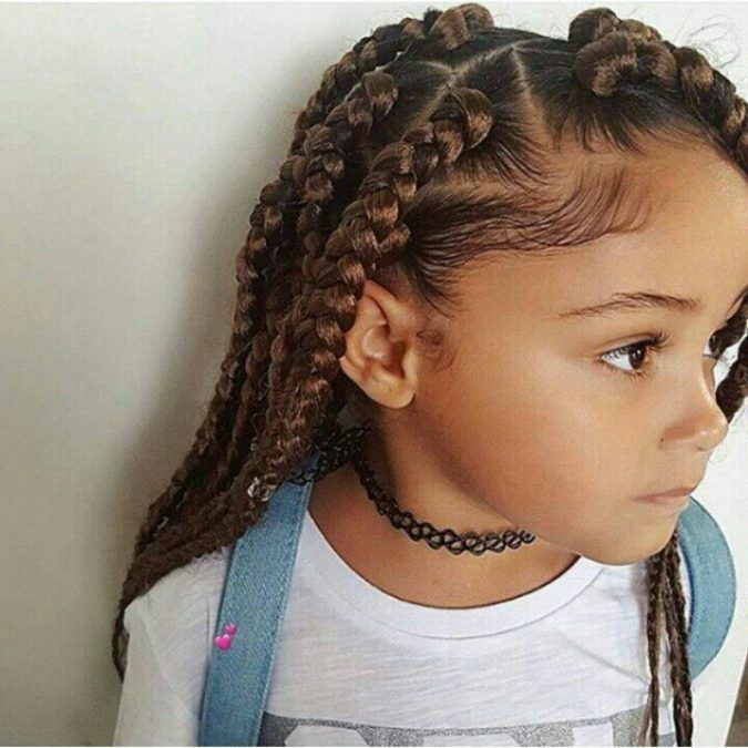 Top 10 Cutest Hairstyles for Black Girls in 2020 | Braids for long .