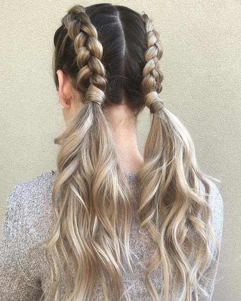 41 Cute Braided Hairstyles for Summer 2019 | StayGl