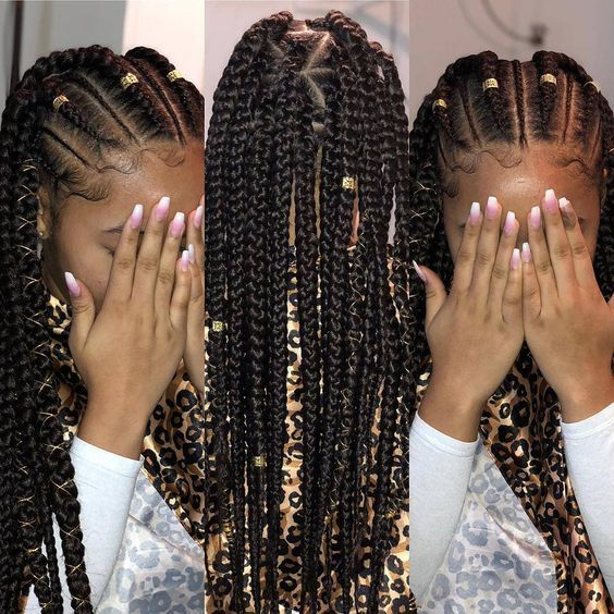 12 Easy Winter Protective Natural Hairstyles For Kids | Natural .