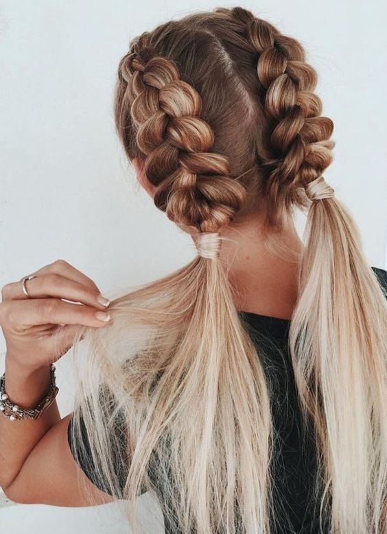 06 Cute Braided Hairstyles for Girls | Cool braid hairstyles, Cute .