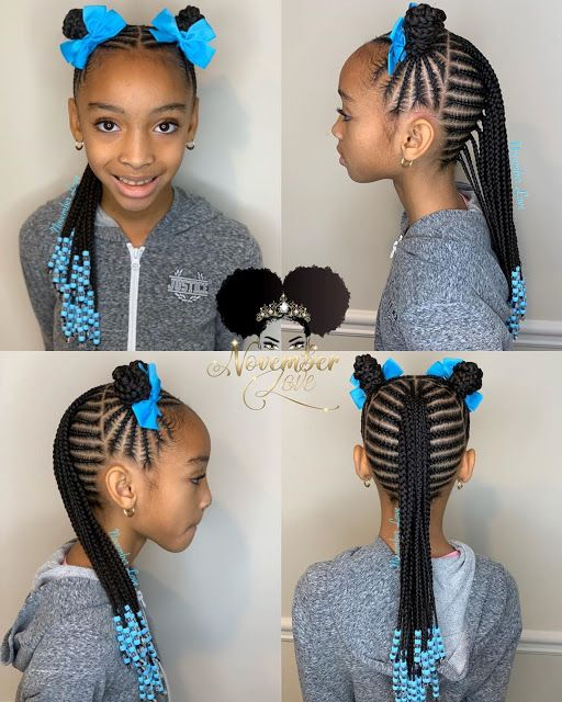 Pin by Healthy Lifestyles on Hair Styles For Kiddies | Kids .