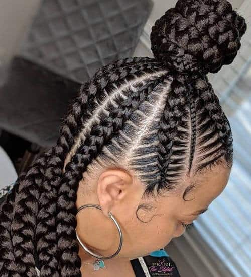10 Popular Black Braided Hairstyles for Women | Styles At Li