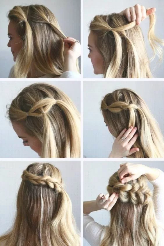 65 Women's Easy Hairstyles Step By Step DIY | Braided hairstyles .