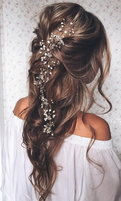 15 Beautiful Wedding Hair Ideas | Hair styles, Wedding hairstyles .