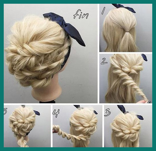 Updo Hairstyles Tutorial 271183 Easy Tutorial for Rope Braided .