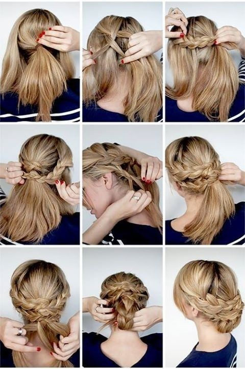 Braided Updo Hairstyles With Tutorials